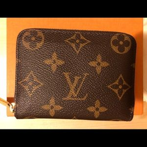 Louis Vuitton Zippy Coin Purse Monogram